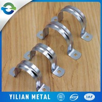 China Manufacturer PVC Galvanized High Temp Pipe Fittings Clamps