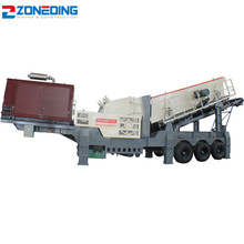 New mining small mobile crusher gravel crushing plant in China
