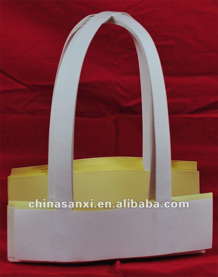 Newest high quality craft paper bag handle