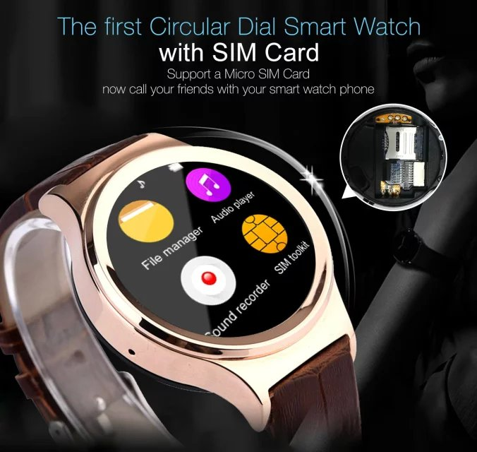 Factory Price Bluetooth android Smart Watch Phone with Mp3/mp4 UV detection pedometer