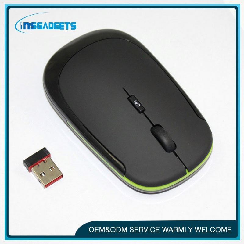 foldable cordless optical mouse , H0T027 , ultra-thin wireless mouse color slim 2.4g wireless mouse