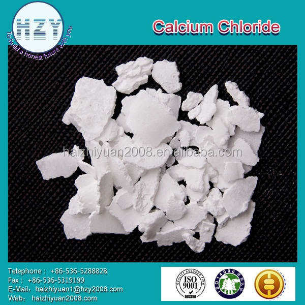 factory of calcium chloride dihydrate 77%flakes