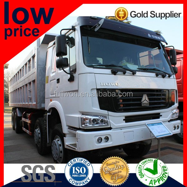 CHINA SINOTRUK 420hp LOW PRICE HOWO 8X4 DUMP TRUCK FOR ETHIOPIA
