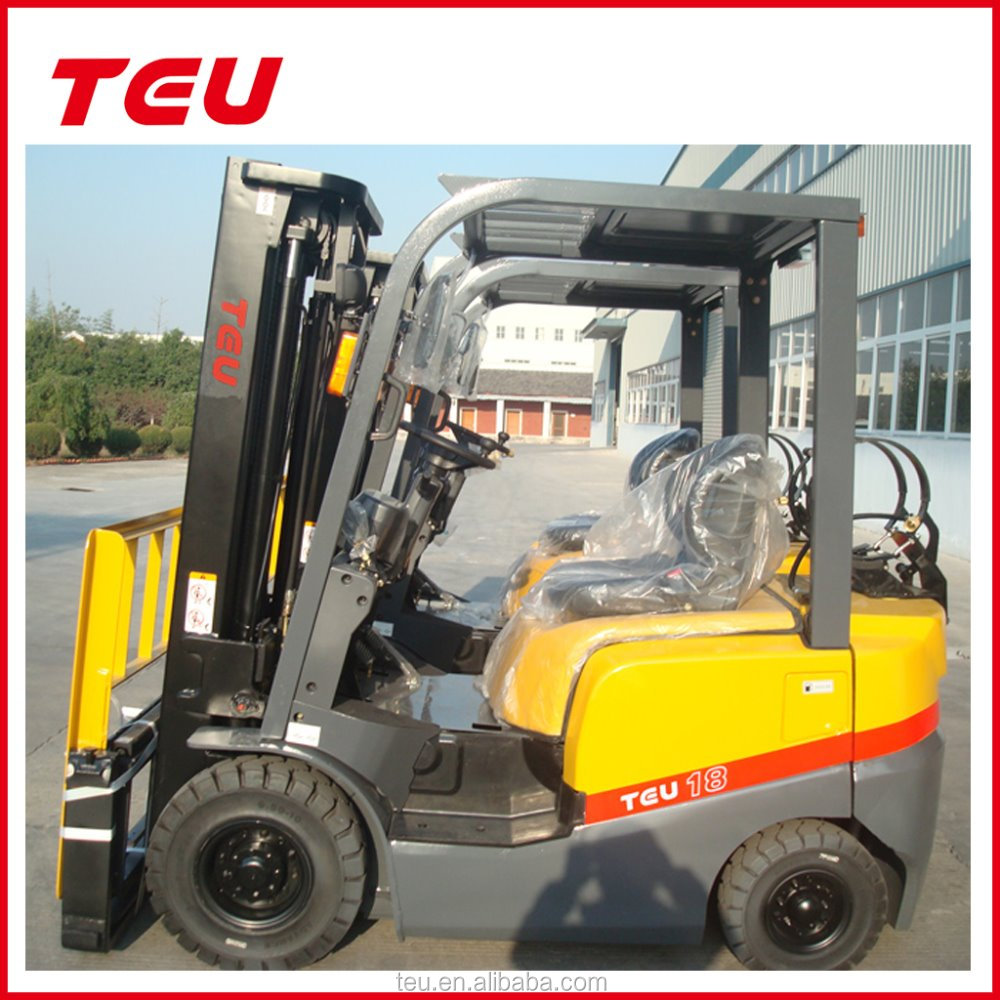 1.8ton lpg and gas dual fuel forklift with nissan engine