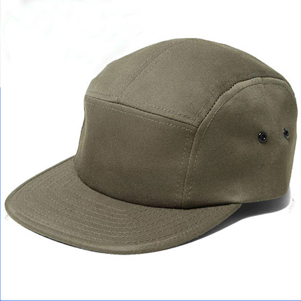 Custopm Made Blank Wholesale 5 Panel Cap