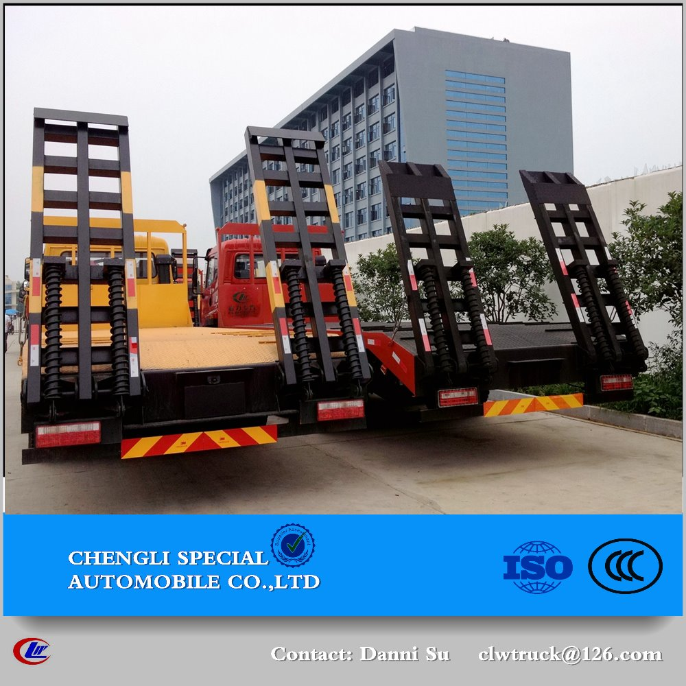 CLW professional automobile refitting plant--flatbed cargo vehicle 1-10tons carrying vehicle truck