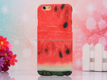 Fashion Style Colorful Painted Fruits WaterMelon Hard Case Back Cover Protector Skin For iPhone 6 4.7Inch