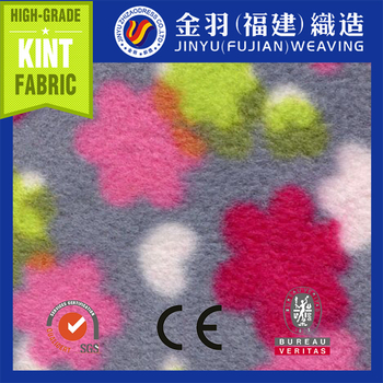 NEW 100%Polyester printing polar fleece fabric