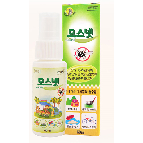 MOSNET_Mosquito Repellent 60ml