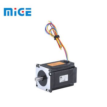 0.9 N.m 6.35mm shaft diameter and 0.85*8mm double plate 57 series stepper motor