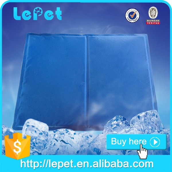 Factory wholesale Re-usable Waterproof cooling pet cushion refrigerator gel cooling pad