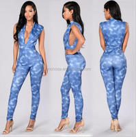 Z59078B Hottest fashionable latest design european ladies jumpsuit