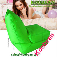 waterproof outdoor beach bean bag folding beach lounge chair bag stripe canvas beach tote bag wholesale