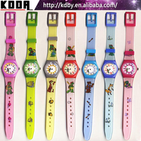 Promotion Kids Cartoon Character Gift Watch Best Chrismas Gift Sports Plastic Watch