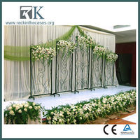 2016 new wedding backdrop decorative /pipe and drape wedding backdrop/pipe clamp