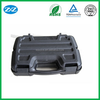 Black High waterproof unbreakable airtight plastic carry case