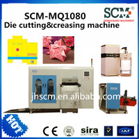 automatic die cutting and creasing machine/automatic creasing and die cutting machine