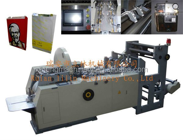 Automatic Kraft Paper Bags making Machine
