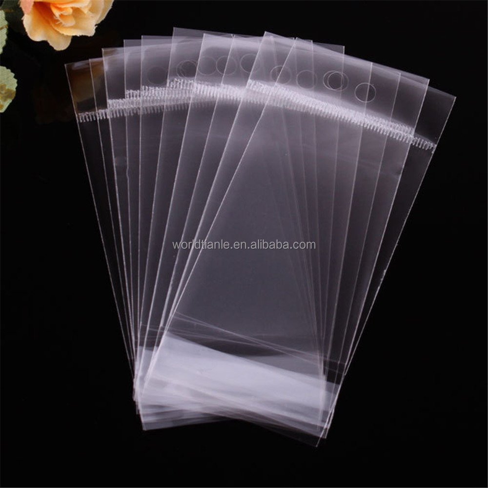 Self adhesive bag/Opp transparent plastic self adhesive toy bags