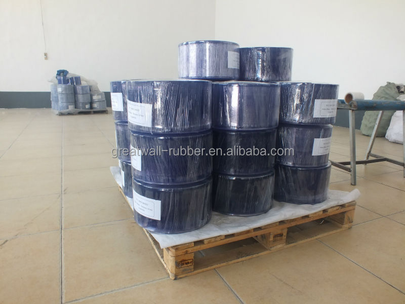 PVC strip curtain thickness 2mm high quality clear blue ISO 9001