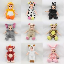 (YW-XR161200) Wholesale wild animal baby deer stuffed plush human doll <strong>toys</strong>