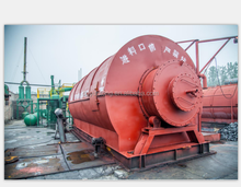 Waste Tire Pyrolysis plant Plastic to Oil Project