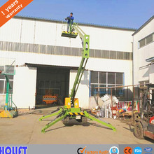 China cheap 2016 Hot sale mobile trailer hydraulic boom lift table used for indoor outdoor