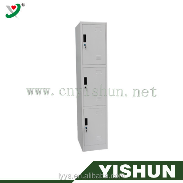 bedroom furniture three doors clothes cabinet,steel locker,locker