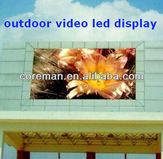 P6 P8 P10 P16 full color ONE double sided video advertising led sign, led program display sign