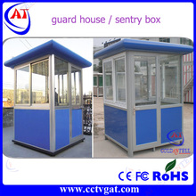 Hot sale moisture-proof mobile sentry box prefabricated steel structure guard house / ticket booth for sale