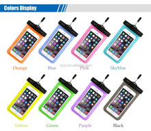 Hot sale Transparent Underwater Sensitive Touch Pouch waterproof cell phone Bag Case Cover For iPhone