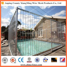 hot dipped galvanized temporary pool fence