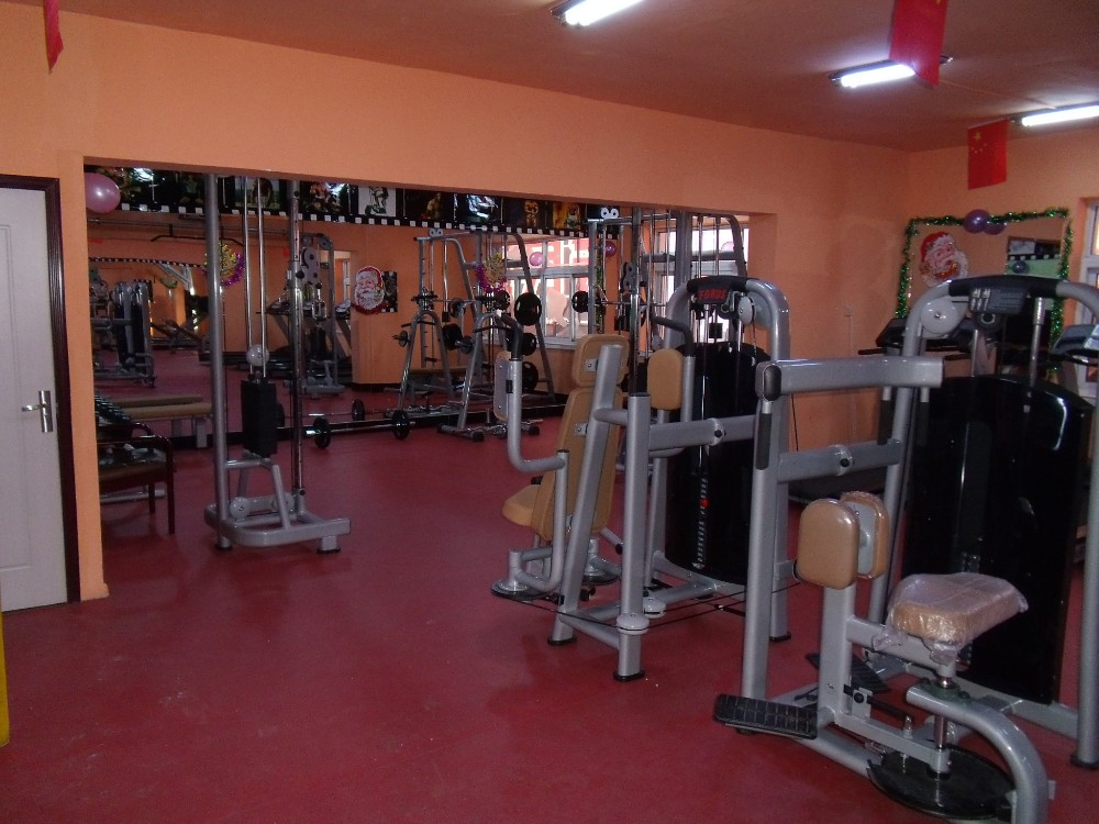 Gym room used professional commercial lat machine buy