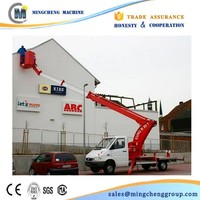200kg capacity Truck Mounted Articulated Boom Lift
