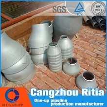 galvanized astm a234 wpb butt weld pipe fittings