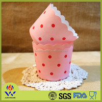 China wholesale factory price paper cupcake