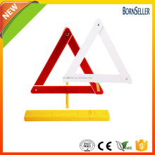 customized logo roadside car emergency kit led warning triangle
