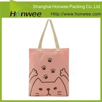 high quality cheap fashion recyclable shopping cotton bag