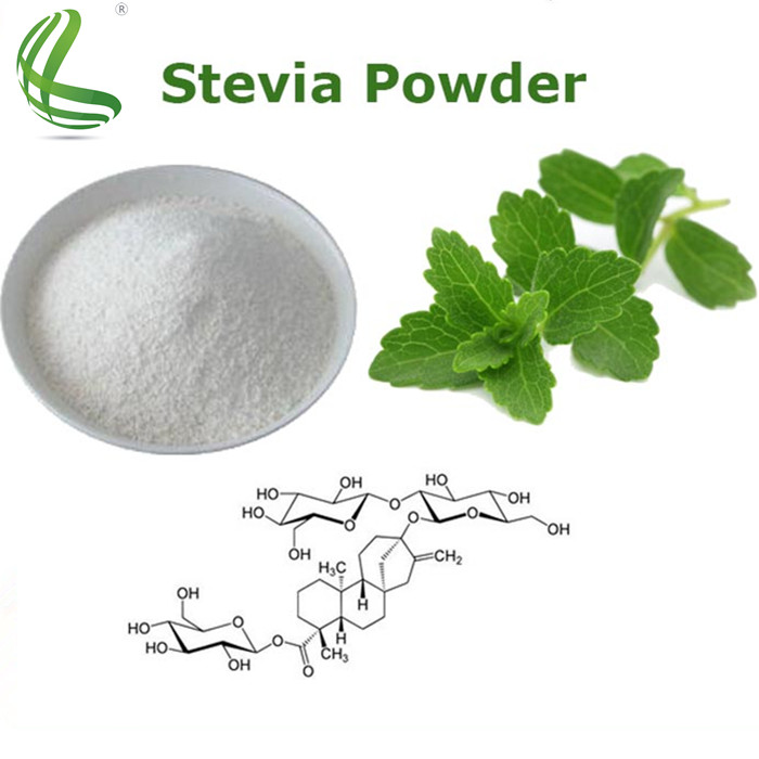 Top quality stevia extract manufacturer 95% steviosides natural sweetener from stevia leaf extract