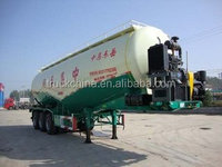 3 axle 50cbm bulk cement semi-trailer bulk cement trailer for hot sale