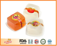 Best Selling Products Pineapple Peach Apple Grape Lychee flavor Assorted Fruit Konjac Seaweed Jelly