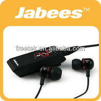 2014 Hotest Fashionable High quality Jabees Wireless Bluetooth Headset For Sony PS3 Black IS901
