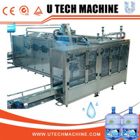 Automatic barrelled water 5 gallon 20 liter bottle filling machine
