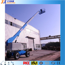 Factory Direct Sale Diesel Engine Compact Self Propelled Boom Lift