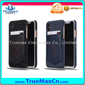 Wholesale Mobile Phone Jeans Leather Cover vs Card Slot Case for iPhone X