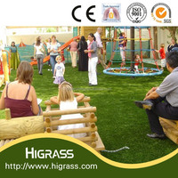Home Garden Ornaments 35mm Artificial Grass For Garden Landscaping