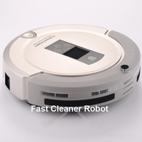 2015 Hot sales economical and best functions robotic vacuum cleaner with two way virtual wall