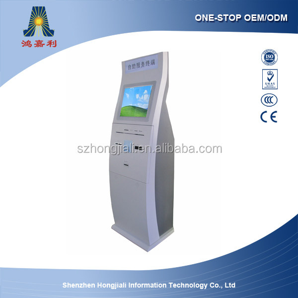 multi currency self-service mobile payment kiosk terminal ATM kiosk (HJL-3651)