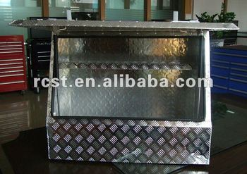 Heavy duty aluminum toolbox