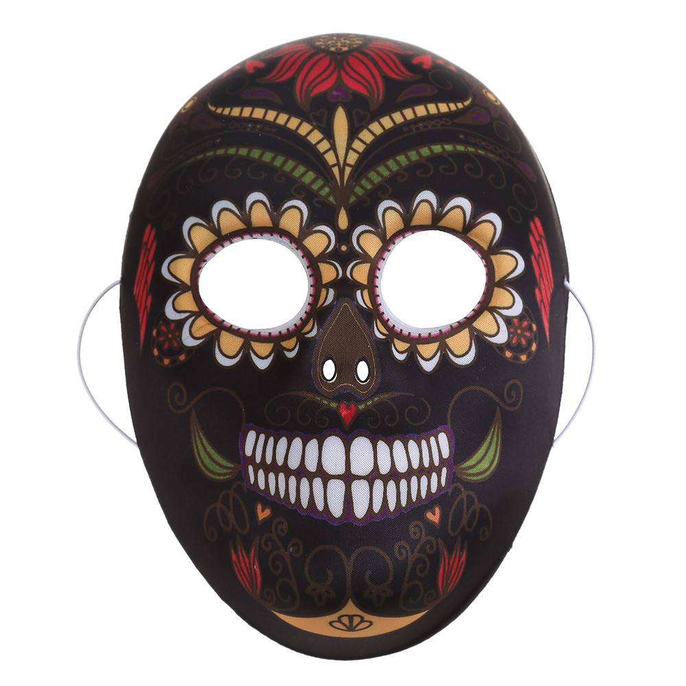 Hand Painted Calaca Day of the Dead Mask halloween mask